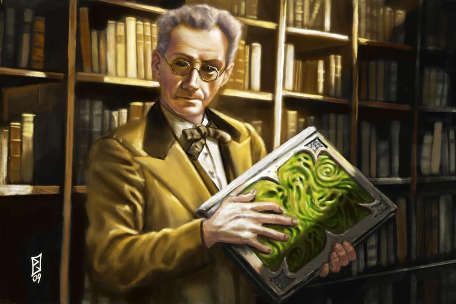 Strange Librarian by pahapasi