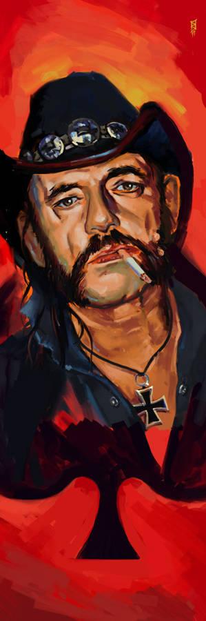 Lemmy portrait