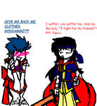 Crossdressing: Rei vs Ike