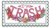 I'm Trash Stamp by sleepypuqs