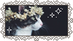 Flowercrown Kitty Stamp by sleepypuqs