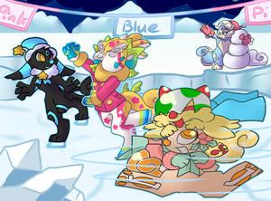 Chams on Ice