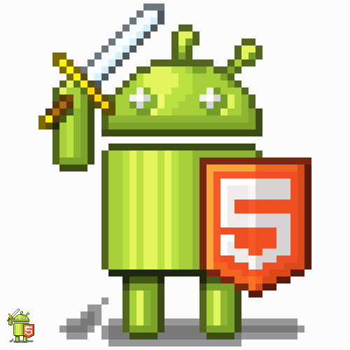 HTML5 Android Warrior by richtaur