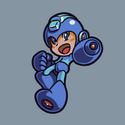 Mega Man by richtaur