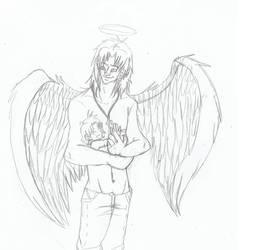 Guardian Angel by YukiShuiski