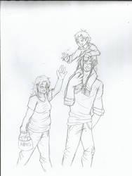 Family Outing by YukiShuiski