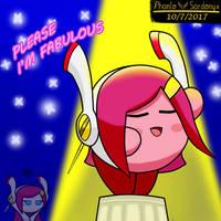 Kirby is fabulous by Phanto-Sardonyx