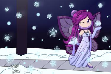 Papillon - The Snow Bomberlady by Phanto-Sardonyx