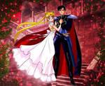 Princess Serena and Prince Darien