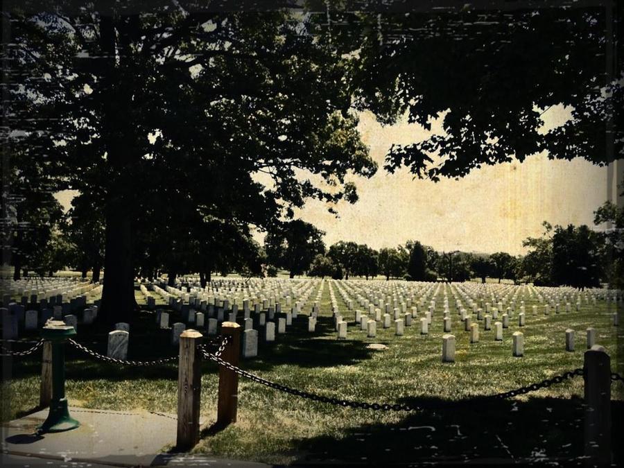 Arlington National Cemetery by xXSmokeNMirrorsXx