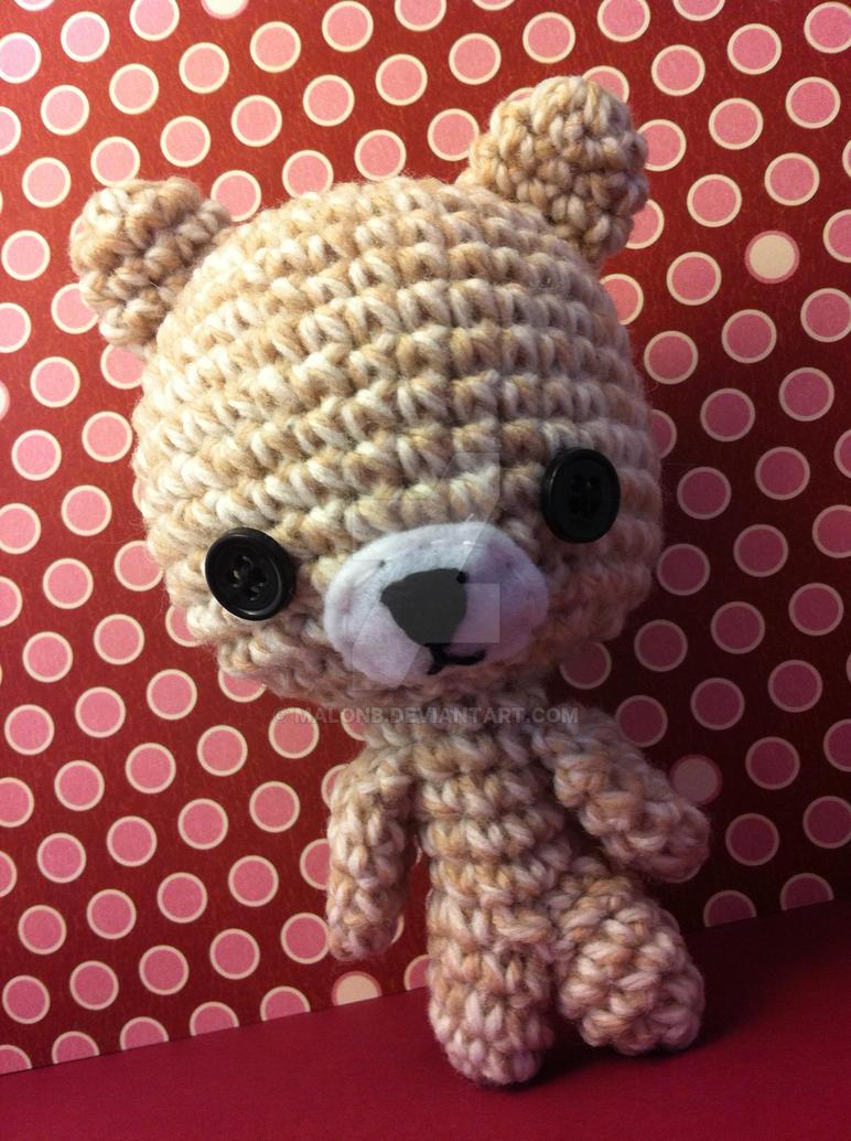 Bear in Oatmeal by MalonB