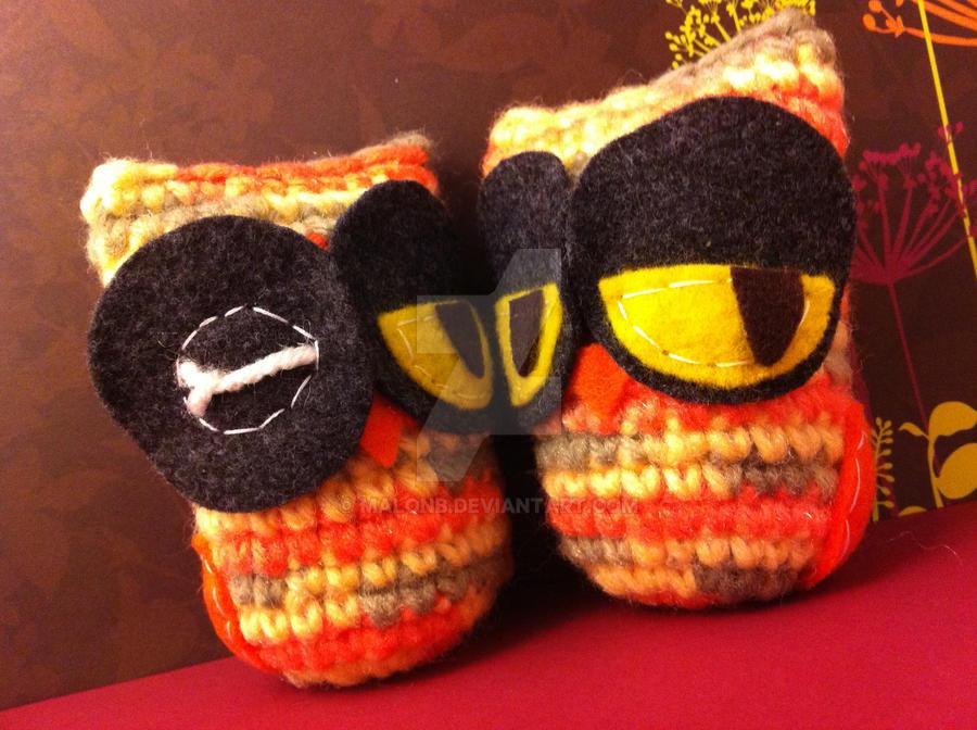 Owl Duo by MalonB