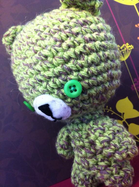 Bear in Green by MalonB