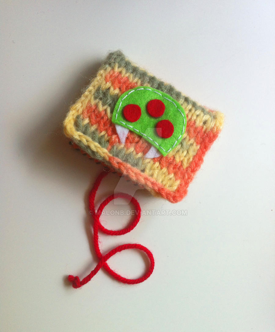 Metroid Pin and Needle Book by MalonB