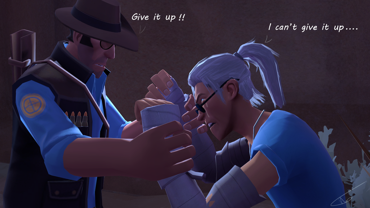 Give it up... by Wolverax