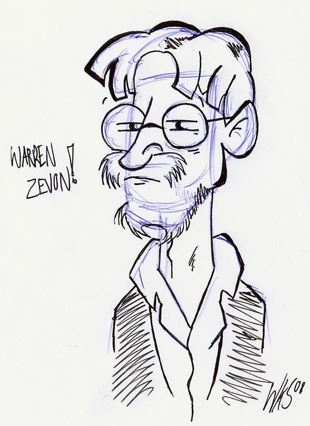 Warren Zevon by Wiggagram