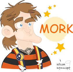 Mork - Coloured by Fat-Chihuahua