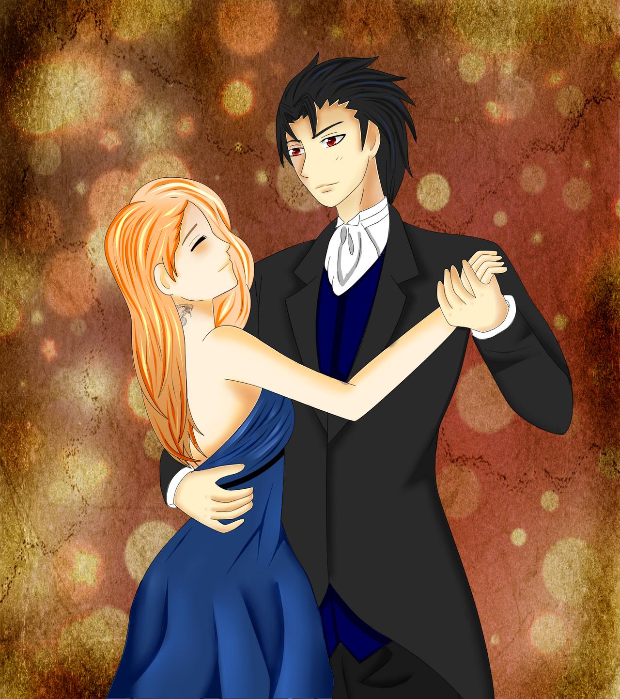 Baile-Ema y Tristan by BlackKissu on DeviantArt