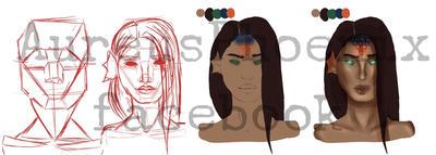 Sketch Debrah  by BlackKissu