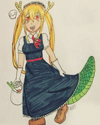 Traditional Tohru  by firelover8