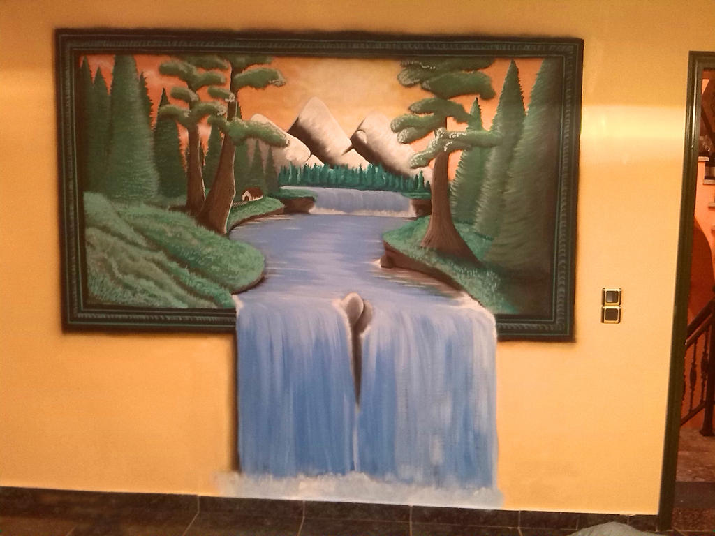 3D Wall Painting 3d wallpainting!!!!teotal on deviantart