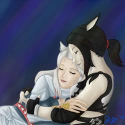 Cuddle Time with the Waifu