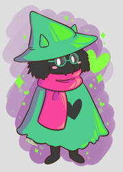 Ralsei by AutumnNeko13