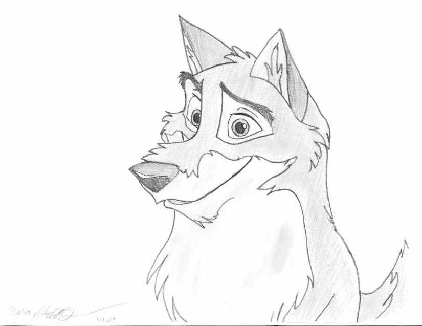 Balto 3 Coloring Pages. Angry Balto by Bitten2007 on DeviantArt - EYDT