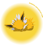 Jolteon by DaneKoi