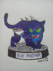 Toy Blue Panther by DaneKoi