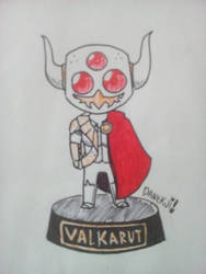 Toy Valkarut by DaneKoi