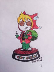 Toy Merry Chirstmas (Jonathan) by DaneKoi
