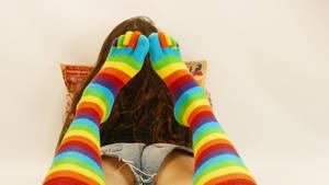 Time for toe socks!