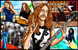Cliff Burton by AngryLEO