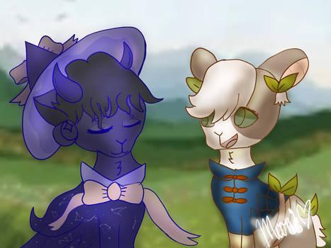 My 2 main goatlings