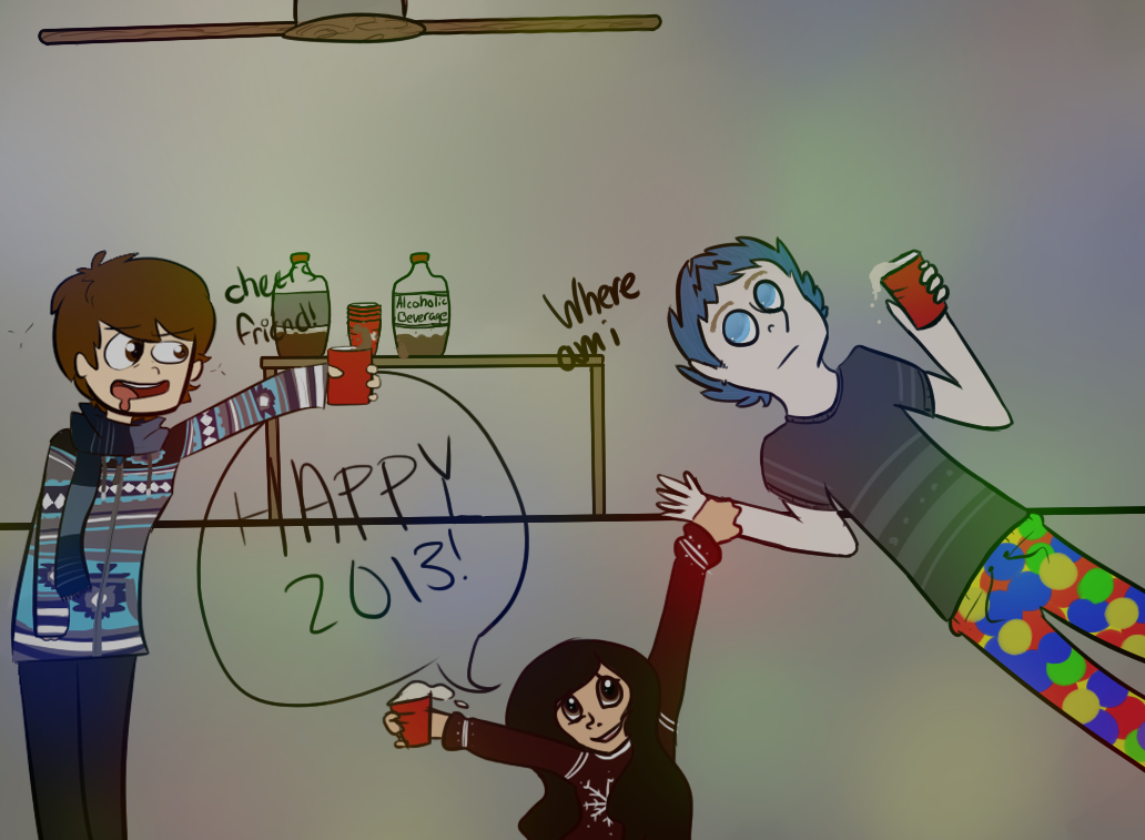HAPPY 2013 WEOOO by Chiiboo