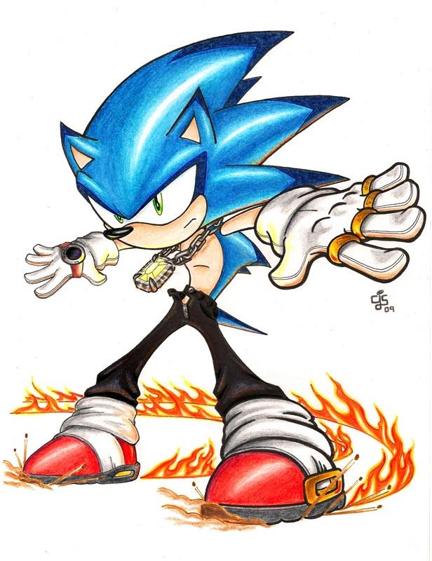 Sonic by Christhopper