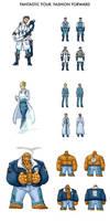 Fantastic Four: Fashion Forward