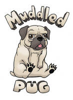 A Muddled Pug by WhereIDrawTheLine