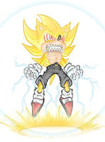 Super Sonic by WhereIDrawTheLine