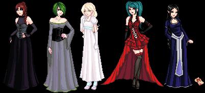 Dark Brides by mariblackheart