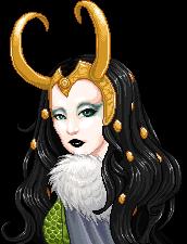 Lady Loki by mariblackheart