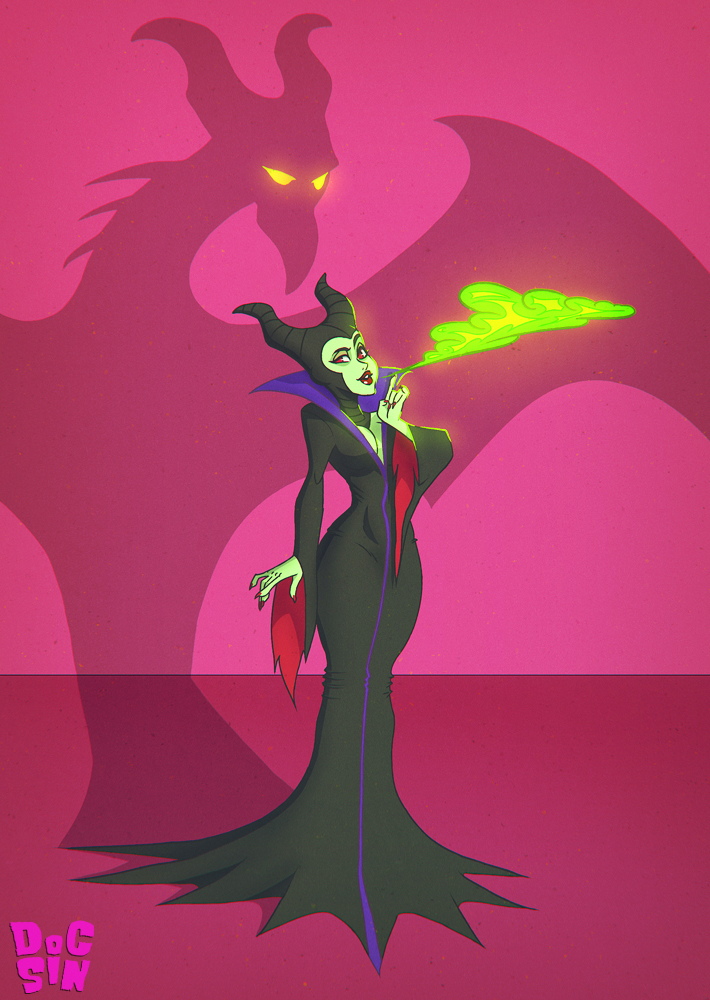 Maleficent by DocSinistar