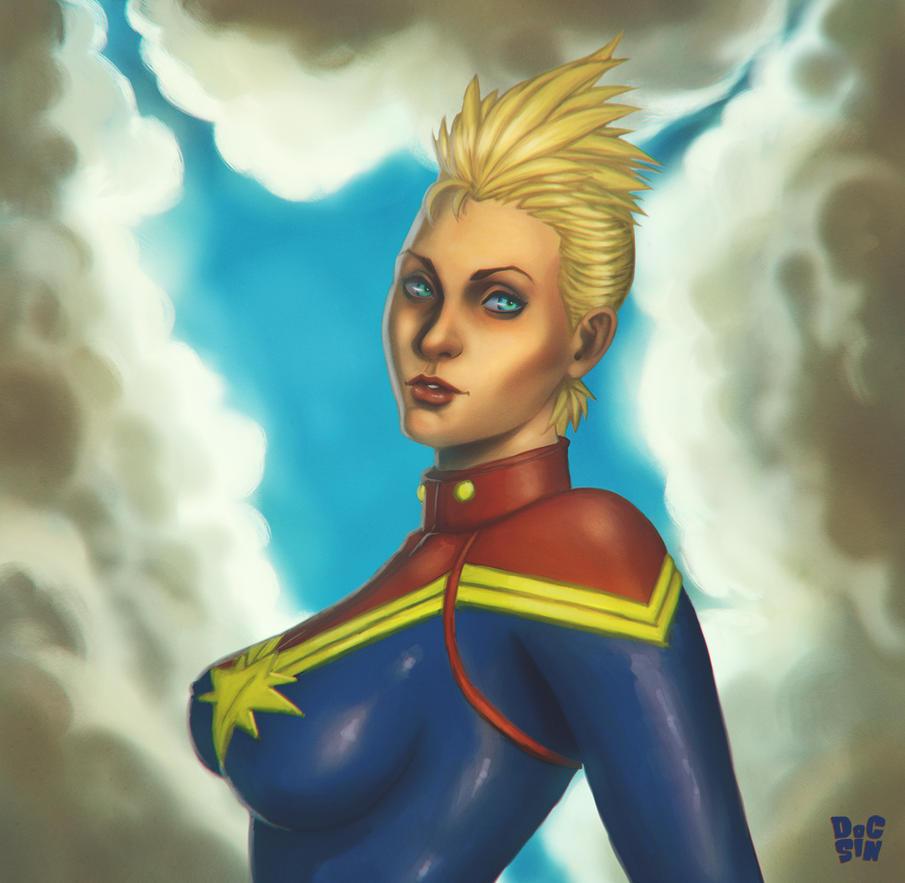 Captain Marvel by DocSinistar