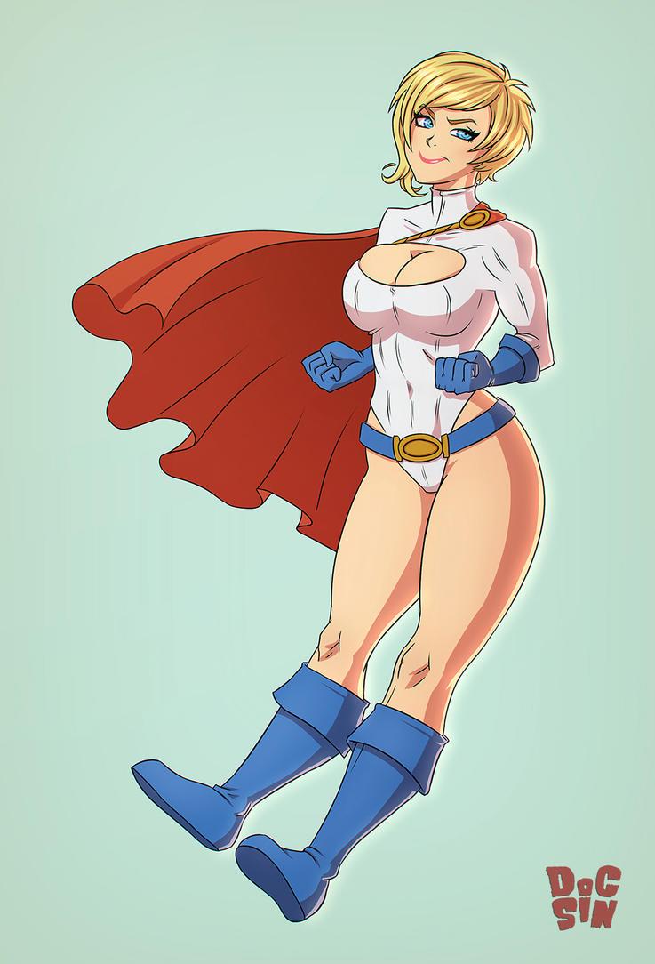 Power Girl by DocSinistar