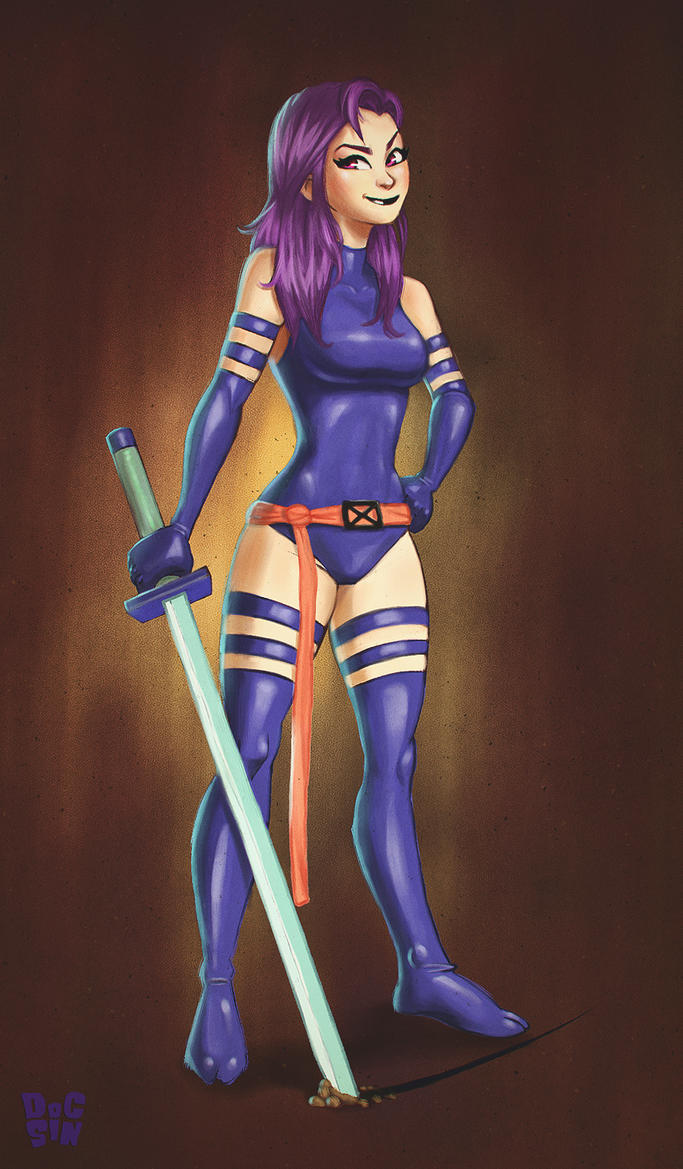 Psylocke by DocSinistar