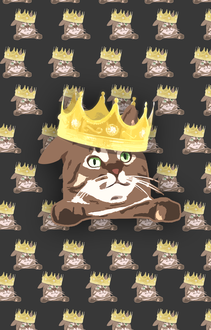 King (iPhone case, Laptop skin, mug, ...) by deesign3r