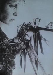 Edward Siccorhand portait by Shazlilover