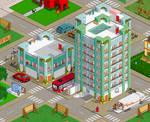 Apartment Buildings for Pixelart