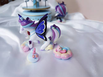 Cream Unicorn Cookie from  Cookierun Ovenbreak